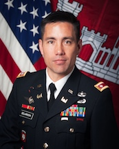 Commander and Division Engineer, Northwestern Division, US Army Corps of Engineers, Damon A. Delarosal (Photo by NW Division US ACOE)