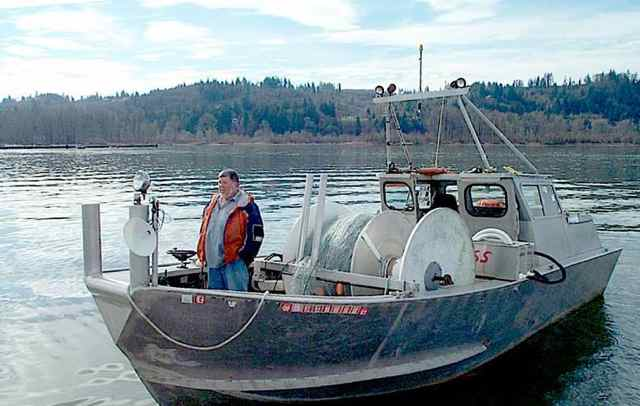 Lower Columbia River gillnetters got a day on the river this week. (WDFW photo)