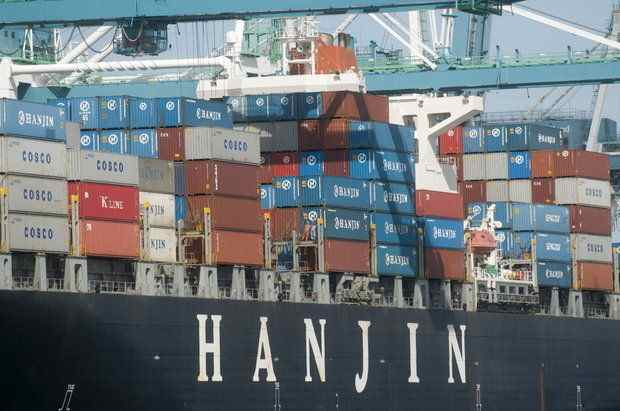 (Benjamin Brink) Container shipper Hanjin announced in October that it intends to stop serving the Port of Portland.