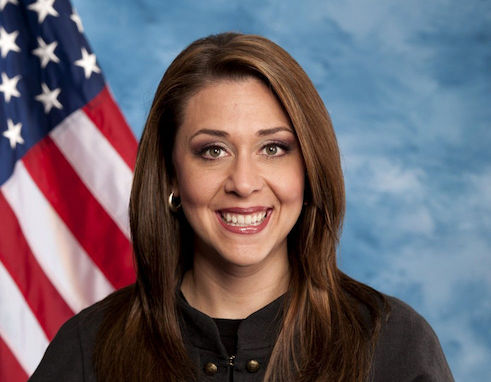 Rep. Jaime Herrera Beutler, R-Battle Ground, Washington.  Battle Ground got its name from a standoff between a group of the Klickitat peoples and a military force from the Vancouver Barracks, which had recently transitioned to a U.S. Army post.