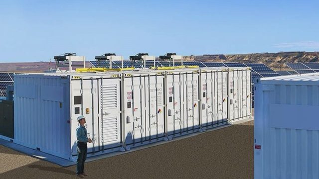 Rendering of the Horn Rapids Solar, Storage & Training Project. Courtesy: Energy Northwest