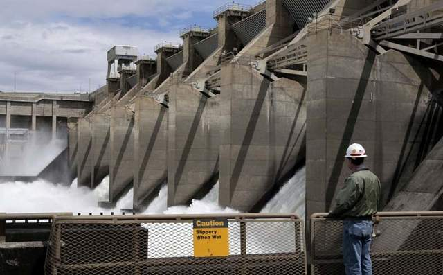 Spillways at Ice Harbor dam are in need of a fix.  ACOE is seeking bids to modify spillways so as to hopefully improve fish passage.