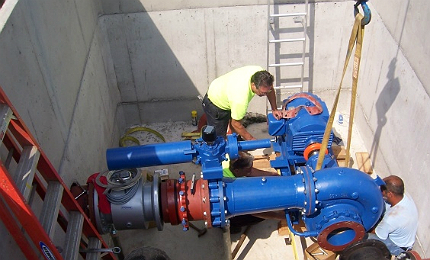 In-pipe Power harnesses hydropower from Urban Water-systems