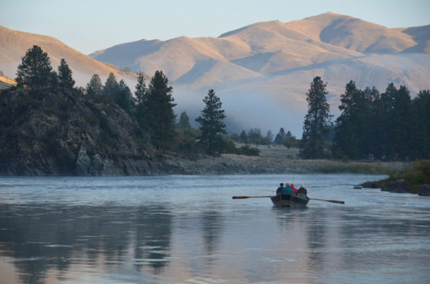 Anglers fish the Salmon River, north of Riggins, Idaho, Oct. 14, 2013, in search of prized steelhead. Steelhead anglers have a multitude of lures at their disposal to catch the elusive fish. (Pete Zimowsky)