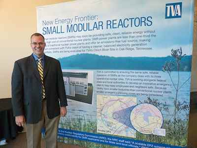 Small Modular Nuclear power plants presentation to TVA
