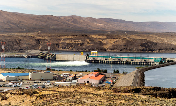 The Wanapum Dam is one of more than a dozen large hydroelectrical dams along the Columbia River (New York Times photos 1 of 6