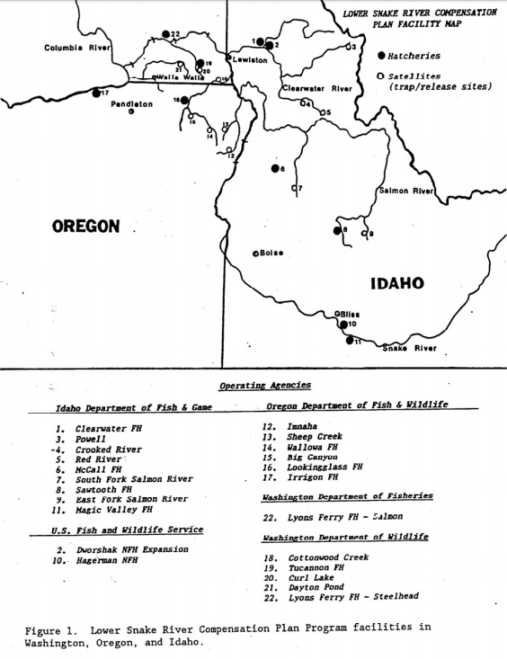 Snake River Washington Map.Questions From Orca Task Force