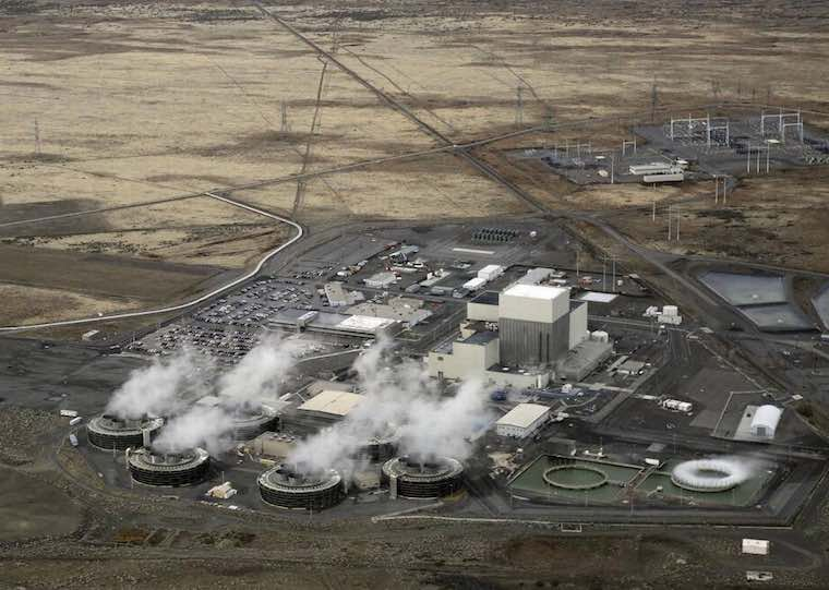 Energy Northwest's Columbia Generating Station, the only nuclear power plant in the region, has been shut down since Sunday following a valve malfunction in the steam processing area. (Sarah Gordon photo)