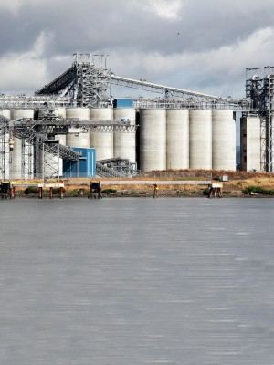 (Bill Wagner) EGT grain terminal as seen from Rainier