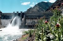 Hells Canyon Dam on the Snake River would see increased flows this summer under a National Marine Fisheries Service request for Idaho Power to release a third of the water in Brownlee Reservoir to aid salmon traveling downstream.