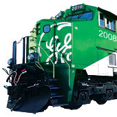 GE Hybrid locomotive