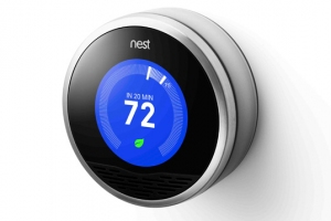 Nest has created a well-designed thermostat that can learn from the user's behavior over several weeks.