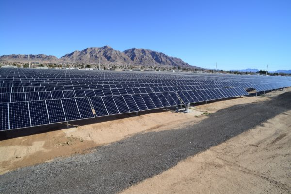 Existing NV Energy solar PV project. (Photo: NV Energy / Berkshire Hathaway Energy)