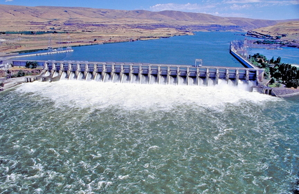 The Northwest River Forecast Center cues its water supply off The Dalles Dam, which sees all the water that flows down the upper Columbia and Snake rivers.